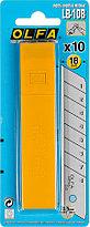 Лезвия сегментированные OLFA 18 мм, 10 шт. (OL-LB-10B), фото 2