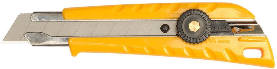 Нож с выдвижным лезвием для тяжелых работ OLFA 18 мм (OL-L-1), фото 2