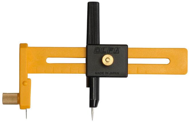 Резак циркульный OLFA 10-150 мм (OL-CMP-1), фото 2
