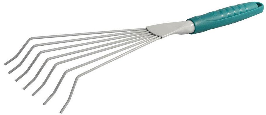 Грабли веерные, Raco, 420 мм, 7 круглых зубцов (4207-53491), фото 2