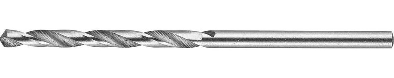 Сверло по металлу ЗУБР Ø 2.7 x 61 мм, класс А, Р6М5 (4-29625-061-2.7)