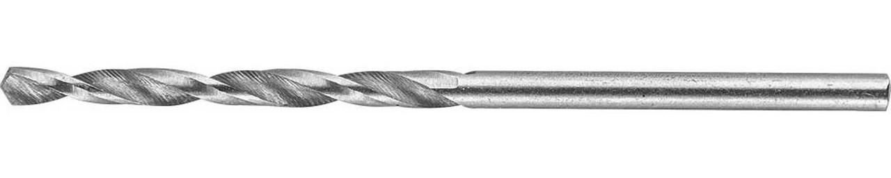 Сверло по металлу ЗУБР Ø 2.1 x 49 мм, класс А, Р6М5 (4-29625-049-2.1)