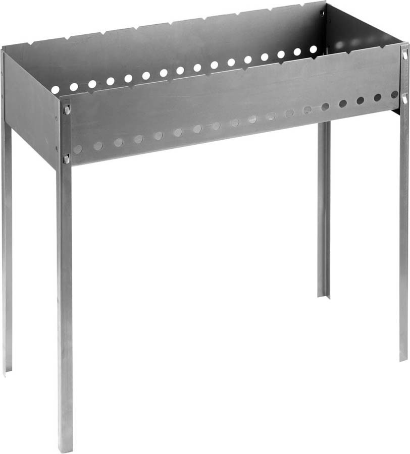 Мангал сборный BARBECUE, GRINDA 700 x 300 x 700 мм, сталь 1.5мм (427783)