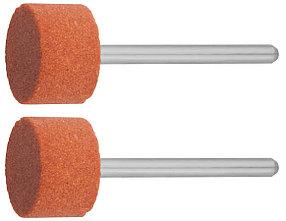 Круг абразивный шлифовальный ЗУБР P120 15.0 x 10.0 х 3.2 мм, L 45 мм, 2 шт., на шпильке (35910)