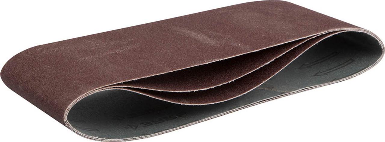 Лента шлифовальная ЗУБР P120, 100х610 мм, 3 шт., универс. бесконечная на тканевой основе для ЛШМ (35543-120)