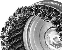 """Щетка чашечная для УШМ, ЗУБР Ø 120 мм, проволока 0,8 мм, серия """"Профессионал"""" (35271-120_z02), фото 2"""