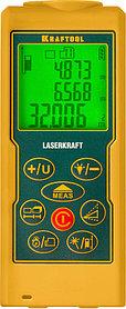 Лазерный дальномер, KRAFTOOL, дальность 5 см - 70 м, точность 1,5 мм (34760_z01)