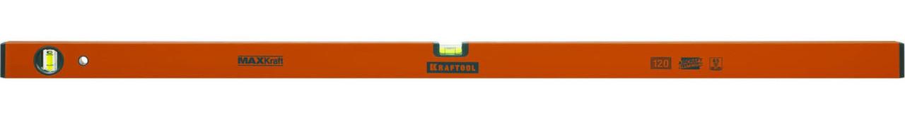 Уровень коробчатый усиленный MAXKraft, KRAFTOOL, 1200 мм (34577-120)
