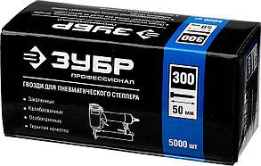 """Гвозди особотвердые, ЗУБР, гвозди тип 300, 50 мм, серия """"Профессионал"""" (31830-50), фото 2"""