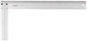 Угольник столярный, ЗУБР, 500 х 50 х 3 мм, жесткое профилированное полотно (34395-50)