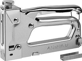 Степлер в кейсе Pro 53, STAYER, скобы 53, набор (3150-H4_z01)