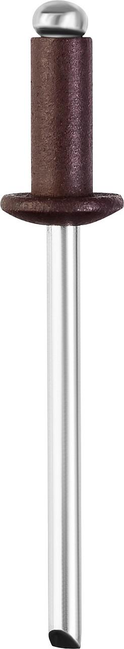Алюминиевые заклепки Color-FIX, STAYER, 4.0 х 10 мм, RAL 8017 шоколадно-коричневый, 50 шт. (3125-40-8017)