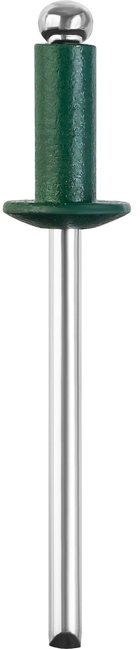 Алюминиевые заклепки Color-FIX, STAYER, 4.0 х 10 мм, RAL 6005 зеленый насыщенный, 50 шт. (3125-40-6005)