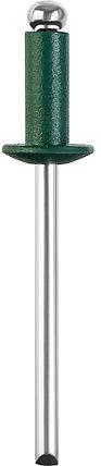 Алюминиевые заклепки Color-FIX, STAYER, 3.2 х 8 мм, RAL 6005 зеленый насыщенный, 50 шт. (3125-32-6005), фото 2