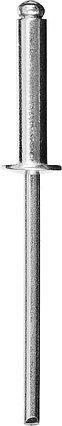 """Алюминиевые заклепки Pro-FIX, STAYER, 6.4 х 18 мм, 25 шт., серия """"Professional"""" (3120-64-18), фото 2"""