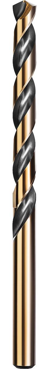 Сверло по металлу KRAFTOOL, Ø 7 мм, HSS-Co (8%), класс A, DIN 338 (29656-7)