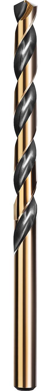 Сверло по металлу KRAFTOOL, Ø 5.5 мм, HSS-Co (8%), класс A, DIN 338 (29656-5.5)