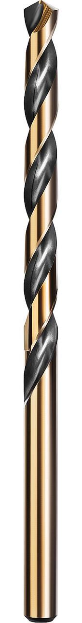Сверло по металлу KRAFTOOL, Ø 5 мм, HSS-Co (8%), класс A, DIN 338 (29656-5)