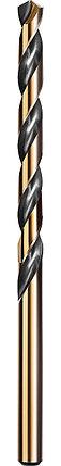 Сверло по металлу KRAFTOOL, Ø 5 мм, HSS-Co (8%), класс A, DIN 338 (29656-5), фото 2