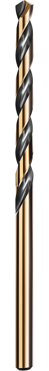 Сверло по металлу KRAFTOOL, Ø 3.5 мм, HSS-Co (8%), класс A, DIN 338 (29656-3.5)
