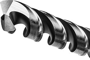 Сверло по металлу KRAFTOOL, Ø 6.5 мм, HSS-G, сталь М2 (S6-5-2), класс A, DIN 338 (29651-6.5), фото 2