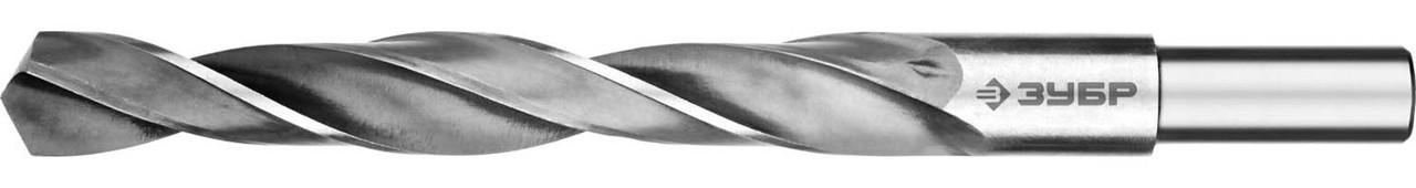 """Сверло по металлу, ЗУБР, Ø 19.5 x 205 мм, класс В, Р6М5, серия """"Профессионал"""" (29621-19.5)"""