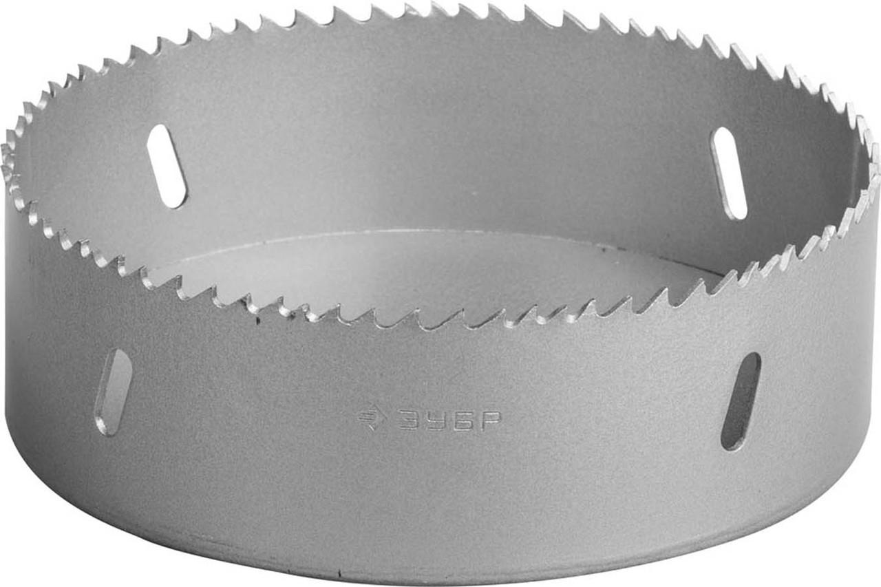 Коронка биметаллическая, ЗУБР, d 121 мм, глубина сверления до 38 мм (29531-121_z01)