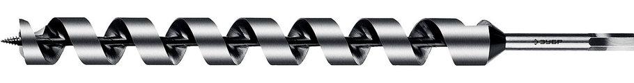Сверло по дереву, ЗУБР, d=30 х 450 мм, HEX хвостовик, спираль Левиса (2948-450-30_z02), фото 2