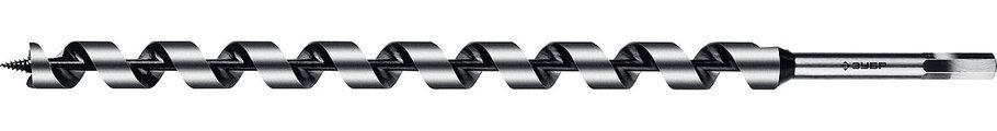 Сверло по дереву, ЗУБР, d=25 х 450 мм, HEX хвостовик, спираль Левиса (2948-450-25_z02), фото 2