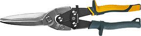 Ножницы по металлу прямые удлиненные Alligator, KRAFTOOL, 290 мм, Cr-Mo (2328-SL), фото 2