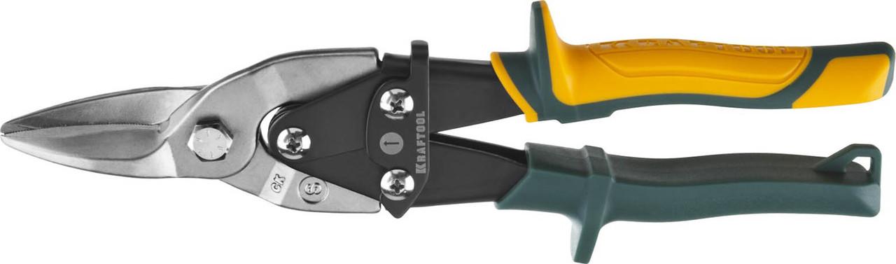 Ножницы по металлу прямые Alligator, KRAFTOOL, 260 мм, Cr-Mo (2328-S)