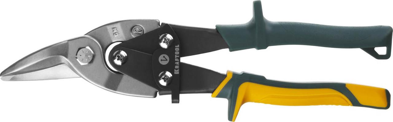 Ножницы по металлу правые Alligator, KRAFTOOL, 260 мм, Cr-Mo (2328-R)