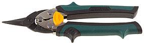 Ножницы по металлу прямые COMPACT, KRAFTOOL, 180 мм, Cr-Mo (2326-S)