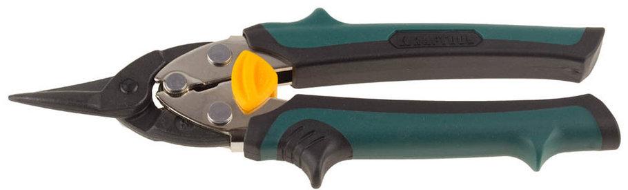 Ножницы по металлу прямые COMPACT, KRAFTOOL, 180 мм, Cr-Mo (2326-S), фото 2