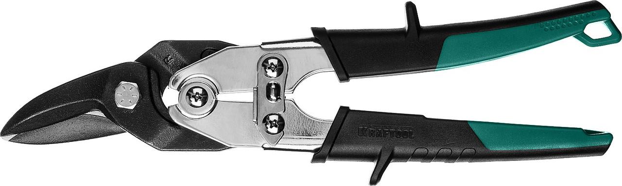 Ножницы по твердому металлу, KRAFTOOL, 260 мм, правые, Cr-Mo (2324-R_z02)