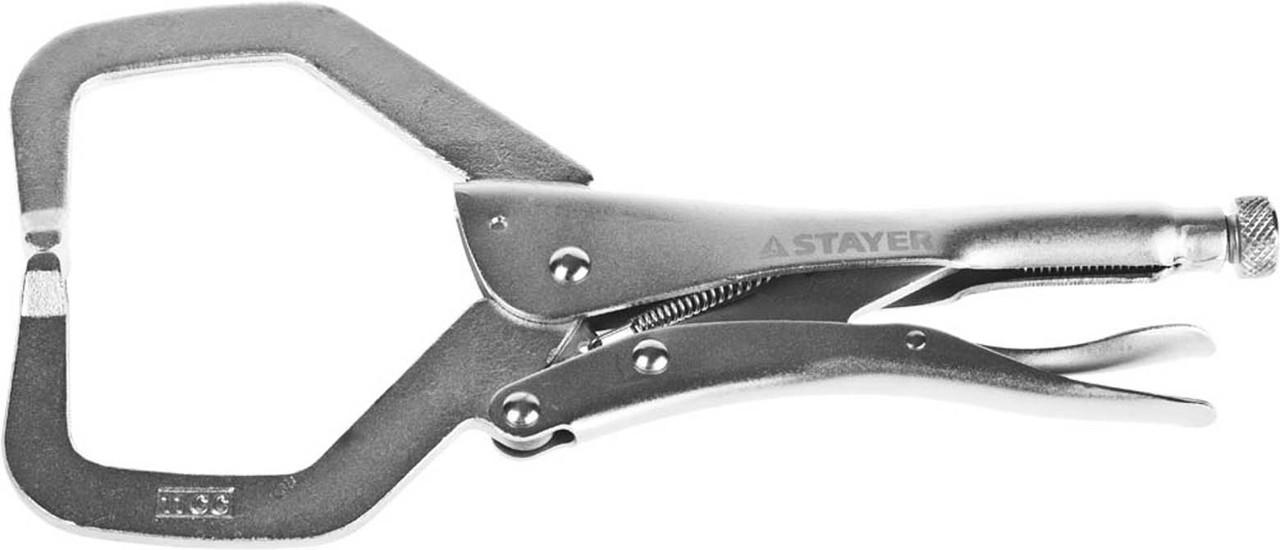Зажим ручной точечный, STAYER 280 мм, CrV (22476_z01)