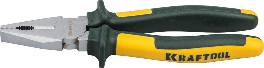 Плоскогубцы комбинированные KRAFT-MAX, KRAFTOOL, 180 мм, Cr-Mo (22011-1-18), фото 2