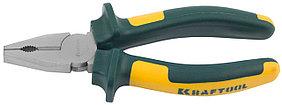Плоскогубцы комбинированные KRAFT-MAX, KRAFTOOL, 160 мм, Cr-Mo (22011-1-16)