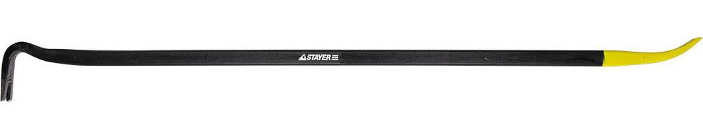 Лом-гвоздодер HERCULES, STAYER, 900 мм, сталь 45, сечение 12х22 мм (21643-90)