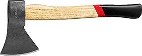 Топор кованый с деревянной рукояткой, ЗУБР, 1300 г, 430 мм (20625-13_z01)
