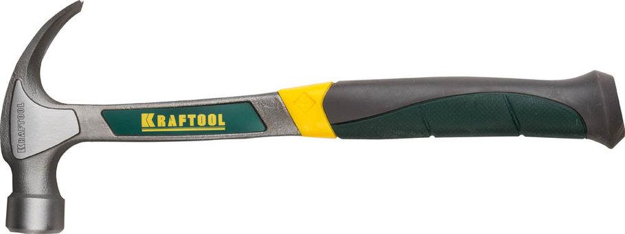 Молоток-гвоздодёр цельнокованый столярный THOR, KRAFTOOL, 450 г (20270-450), фото 2