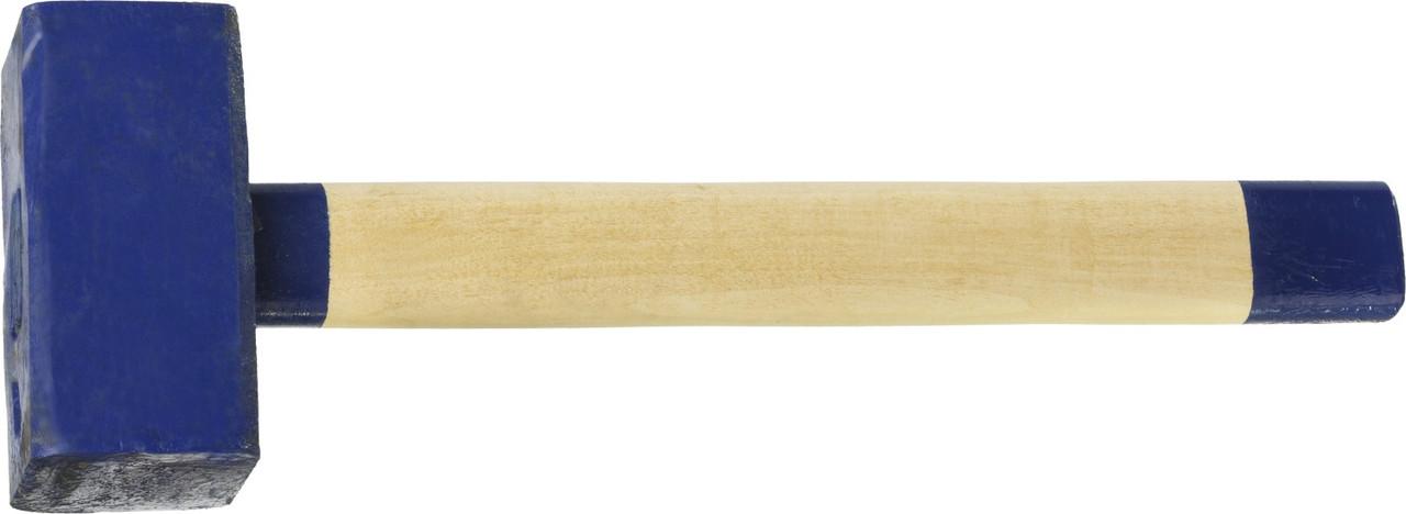 Кувалда СИБИН 3 кг, с деревянной рукояткой  (20133-3)