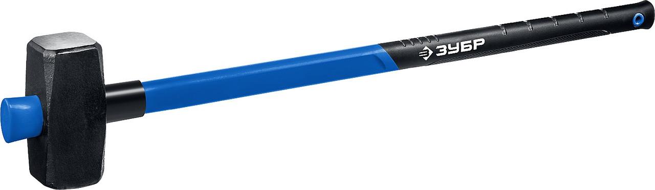 """Кувалда ЗУБР 6 кг, c удлиненной фиберглассовой рукояткой,  серия """"Профессионал"""" (20111-6_z03)"""