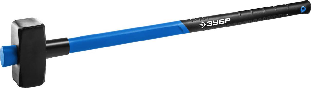 """Кувалда ЗУБР 5 кг, c удлиненной фиберглассовой рукояткой,  серия """"Профессионал"""" (20111-5_z03)"""