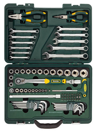 Набор слесарно-монтажного инструмента, KRAFTOOL, 84 шт. (27977-H84), фото 2
