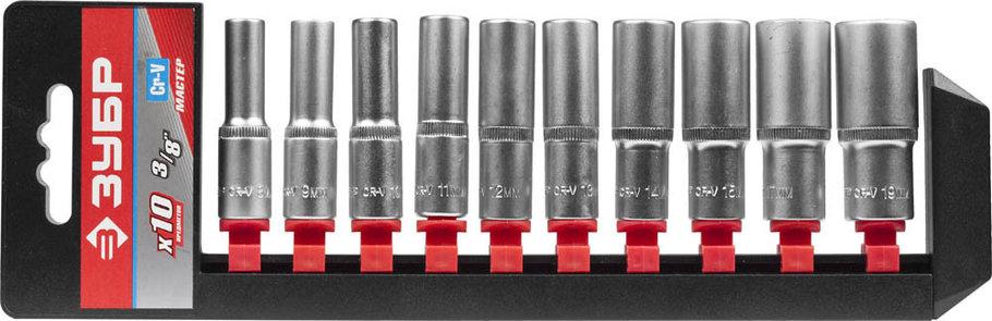 Набор торцовых головок, ЗУБР, 10 шт. (27655-H10), фото 2