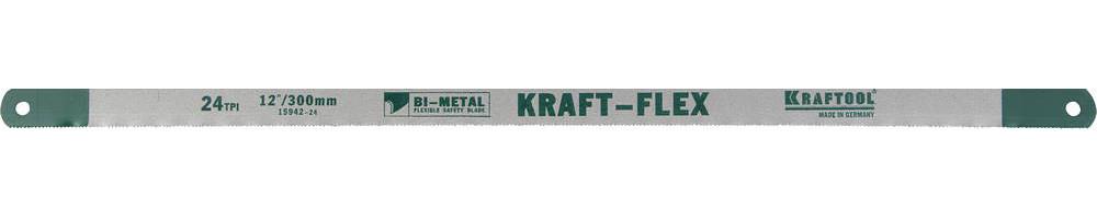 Полотно по металлу KRAFTOOL, 300 мм, 24 PTI (15942-24-S10)