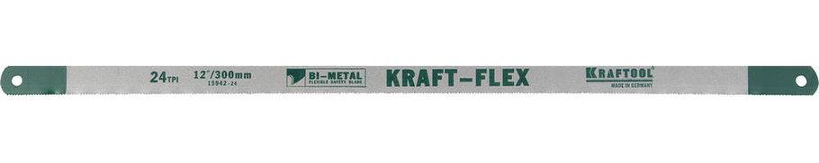 Полотно по металлу KRAFTOOL, 300 мм, 24 PTI (15942-24-S10), фото 2