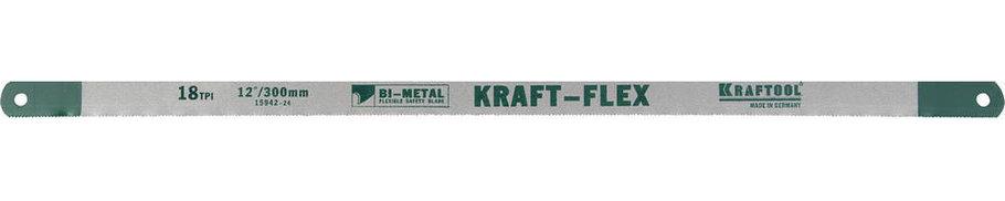 Полотно по металлу KRAFTOOL, 18 TPI, 300 мм (15942-18-S10), фото 2