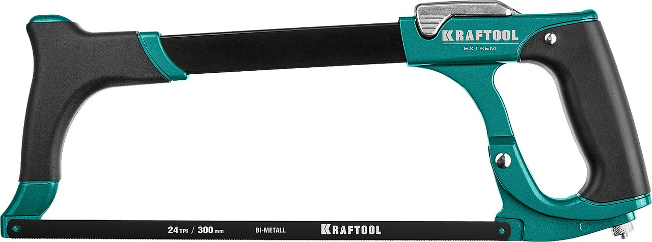 Ножовка по металлу EXTREM, KRAFTOOL, 230 кгс (15802_z02)